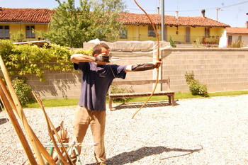 arco long bow
